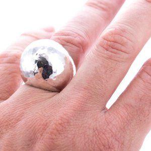 IPPOLITA Statement Hammered Dome Ring